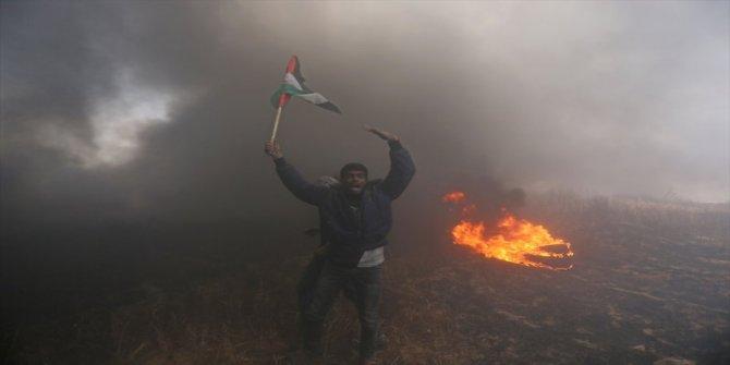 Gazze'de yaralı sayısı 3 bin 188'e yükseldi