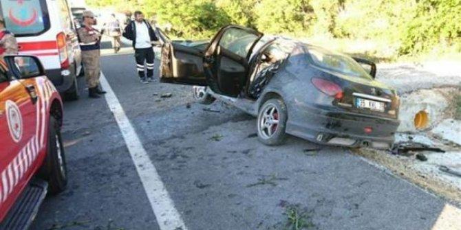 Malatya'da Ak Parti'yi yasa boğan kaza