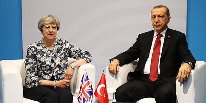 Cumhurbaşkanı Erdoğan ve May Gazze için ortak eylem planı açıklayacak