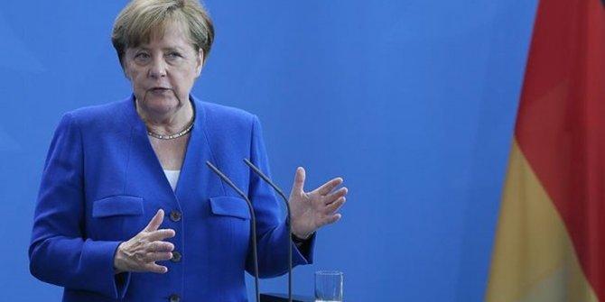 Angela Merkel'den İsrail'e destek!