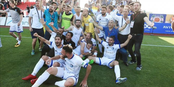 Erzurumspor play-off'ta final sevinci