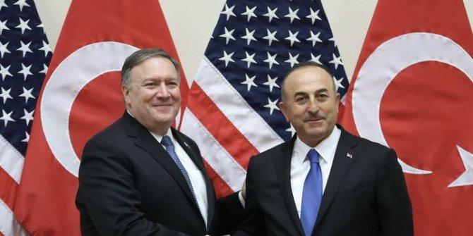 Dışişleri Bakanı Çavuşoğlu ve Pompeo Washington'da görüşecek