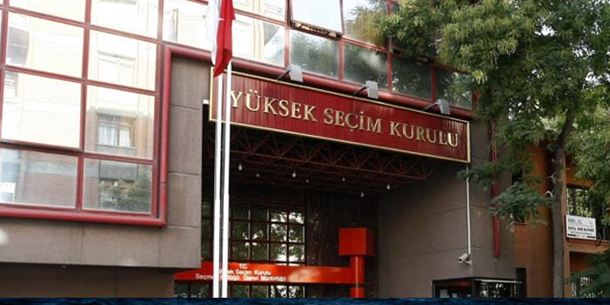 YSK'dan adaylar için bağış sınırı açıklaması