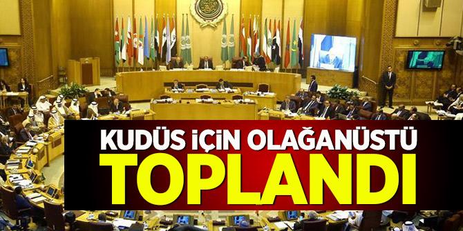 Arap Birliği olağanüstü toplandı