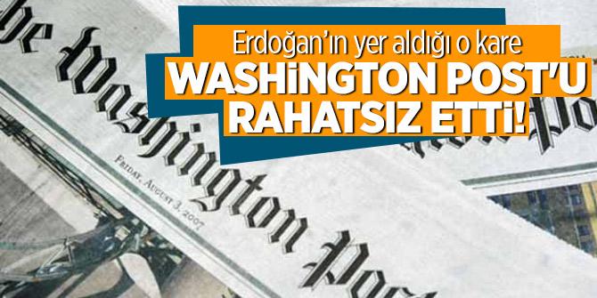 Erdoğan'ın yer aldığı o kare Washington Post'u rahatsız etti!