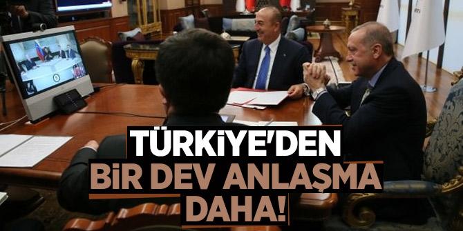 Türkiye'den bir dev anlaşma daha!