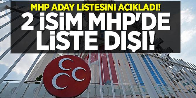 MHP aday listesini açıkladı!