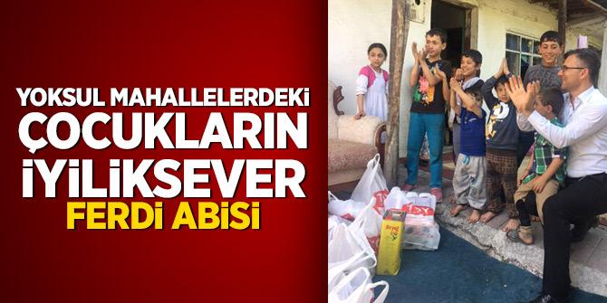 Yoksul mahallelerdeki çocukların iyiliksever Ferdi abisi
