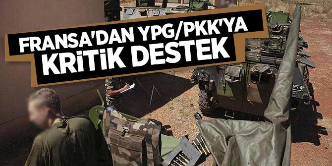 Fransa'dan YPG/PKK'ya kritik destek
