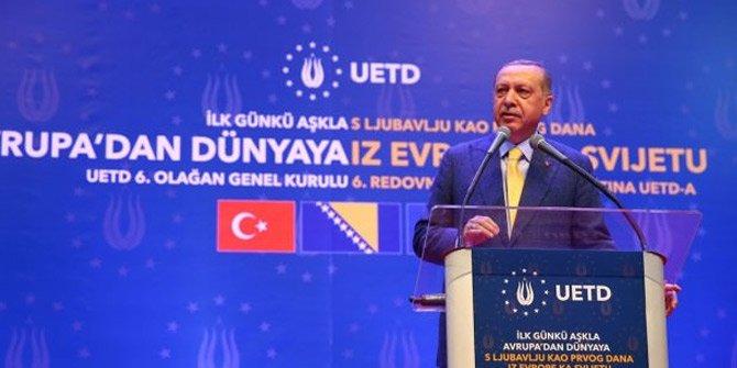 Cumhurbaşkanı Erdoğan: Aktif siyaset yapın