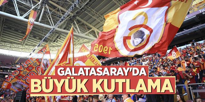 Galatasaray'da büyük kutlama