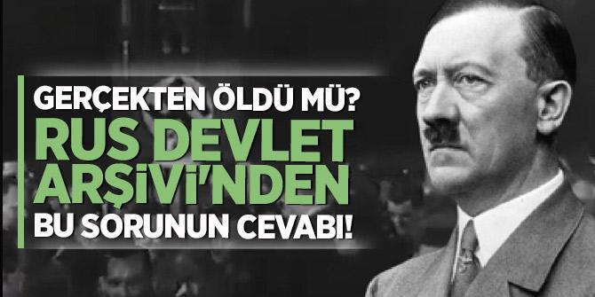 İşte Hitler'in 'ölüm tarihi ve nedeni!