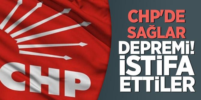 CHP'de Sağlar depremi! İstifa ettiler