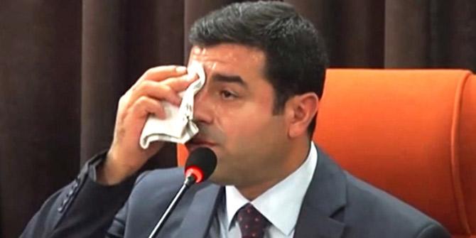 Cumhurbaşkanı adayı olan Demirtaş için karar çıktı