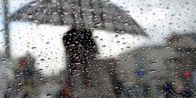 Meteoroloji uyardı! Kuvvetli sağanak yağış geliyor