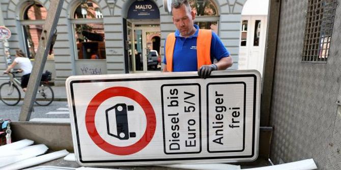 Almanya'da dizel yasağı başlıyor