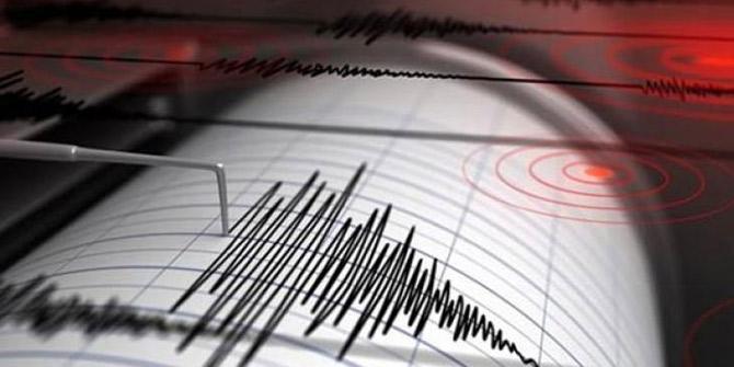 Bitlis'te deprem meydana geldi!