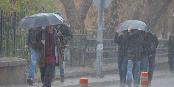 Meteorolojiden 3 il için kuvvetli yağış uyarısı!