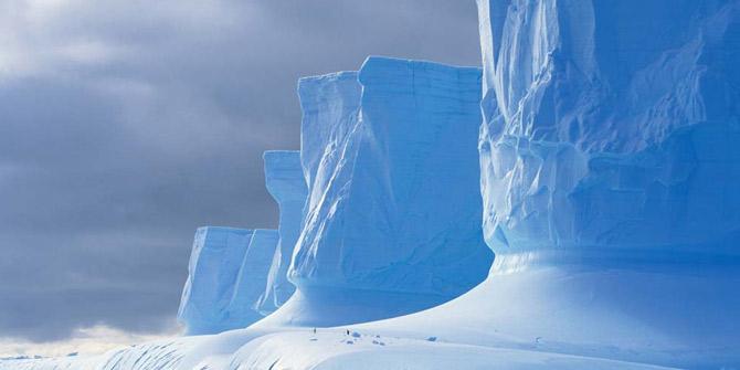 Antarktika kıtasında dev kanyonlar bulundu