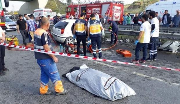 İstanbul Habipler'de feci kaza!