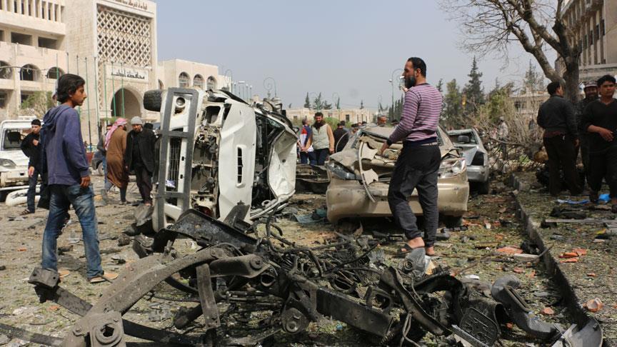 Suriye'de patlama: 2 ölü 50 yaralı