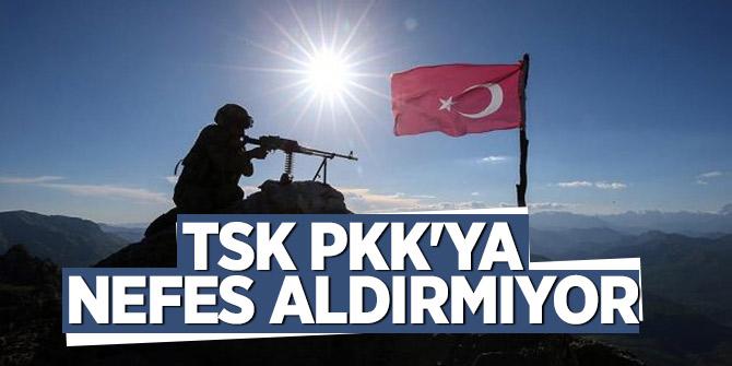 TSK, PKK'ya nefes aldırmıyor