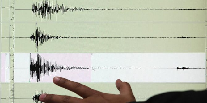 Fiji'de deprem meydana geldi