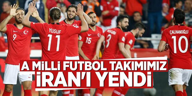 A Milli Futbol Takımımız iran'ı yendi