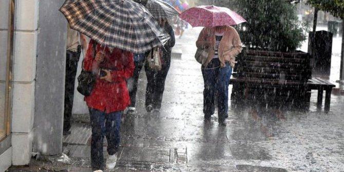 Marmara için sağanak yağış uyarısı!