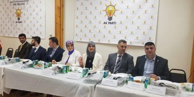 AK Parti ABD'de seçim hazırlık toplantısı düzenledi