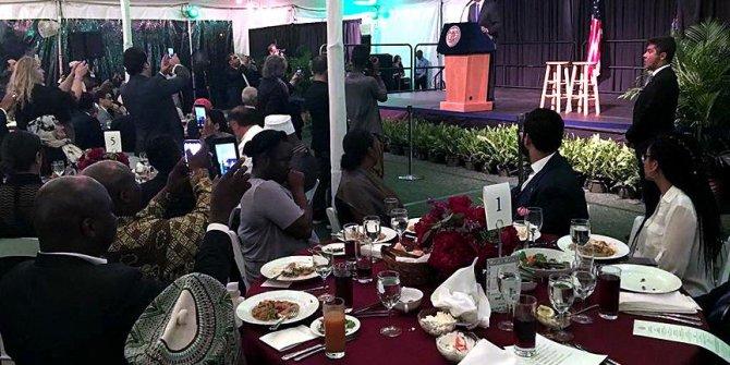 New York Belediye Başkanı Müslümanlara iftar verdi
