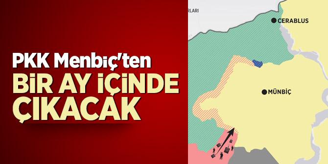 PKK Menbiç'ten çıkacak!