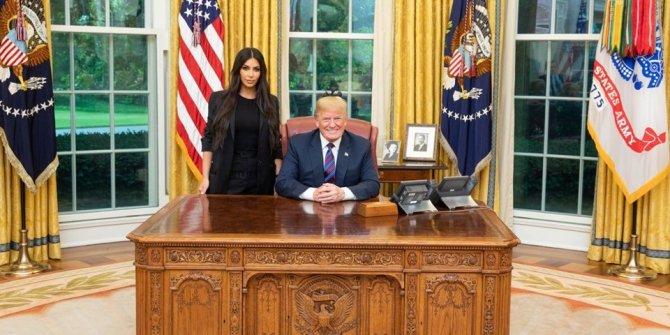 Kim Kardashian Trump'tan af istedi
