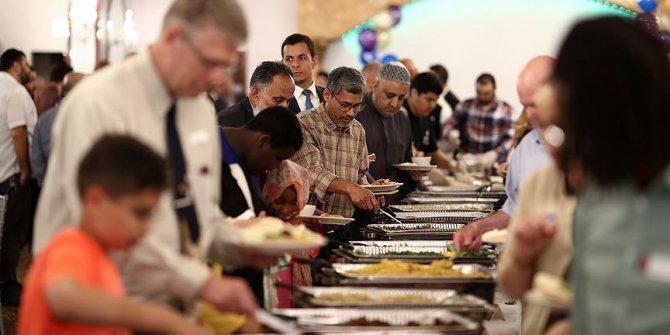 ABD'de iftar!