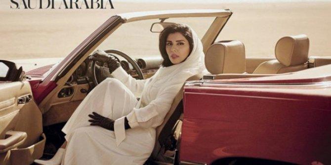 Suudi Prenses yabancı moda dergisine kapak oldu