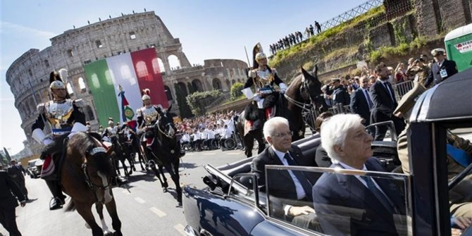 İtalya'da Cumhuriyet Bayramı kutlandı