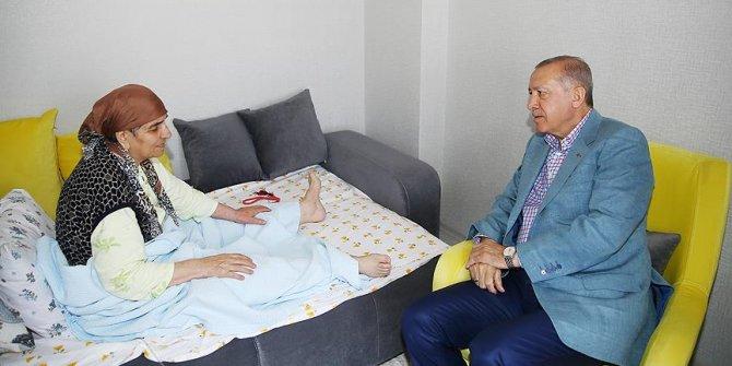 Erdoğan'dan Konya'da hasta ziyareti!