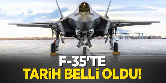 F-35'te tarih belli oldu!