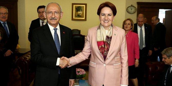 Kılıçdaroğlu- Akşener görüşmesi başladı!