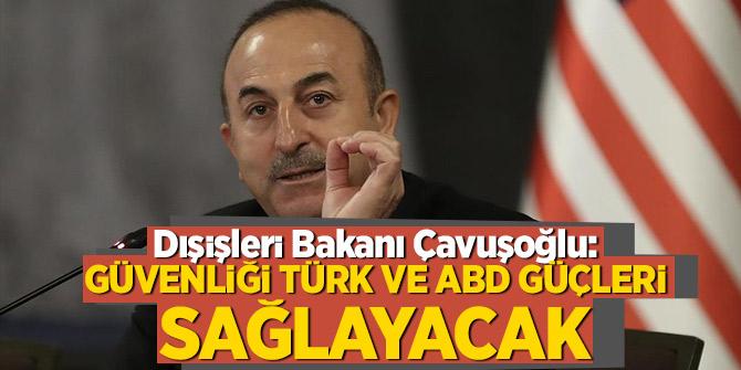 Dışişleri Bakanı Çavuşoğlu'ndan Münbiç açıklaması