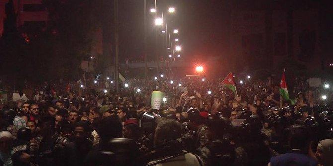 Ürdün'de protestolar hız kesmiyor!