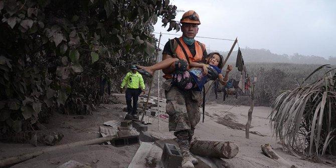 Fuego Yanardağı'nda patlama: 62 ölü