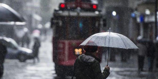 Meteoroloji uyardı! İstanbul'da bu saatlere dikkat