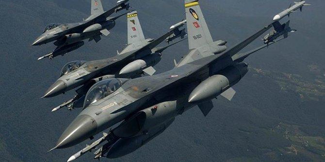 Irak'ın Zap bölgesine hava harekatı!