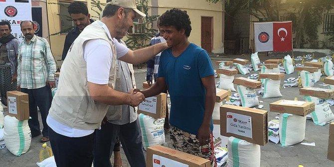 TİKA'dan Yemen'e gıda yardımı