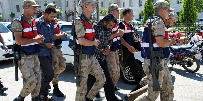 Afrin'de yakalanan 3 teröriste tutuklama