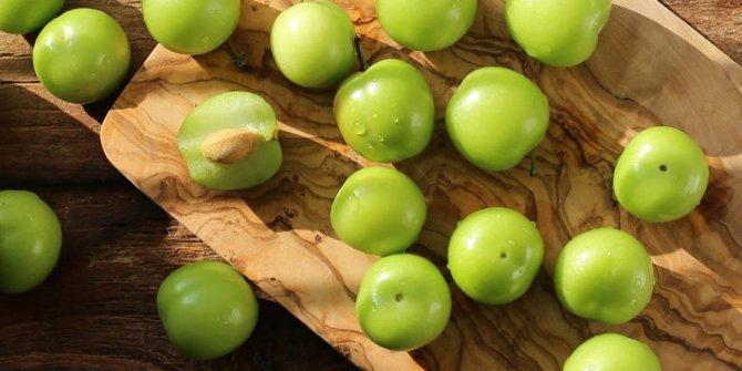 Yeşil eriğin bilinmeyen faydaları