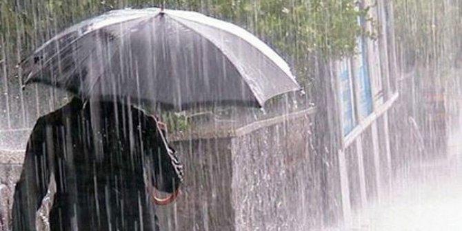 Meteorolojiden iki bölgeye sağanak yağış uyarısı
