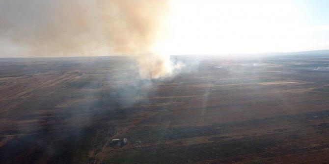 PKK oradaki ev ve arazileri ateşe verdi!