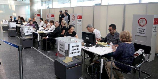 Yurt dışında seçimin ikinci günü yaklaşık 40 bin kişi oy kullandı